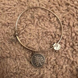Silver Alex and Ani bangle